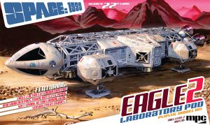 MPC Space:1999 Eagle II w/Lab Pod 1:48 Scale Model Kit