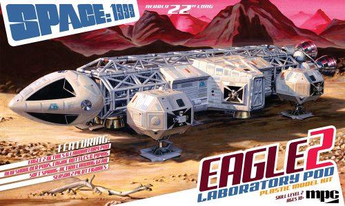 MPC Space:1999 Eagle II w/Lab Pod 1:48 Scale Model Kit