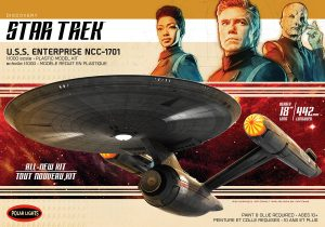 Polar Lights Star Trek Discovery U.S.S. Enterprise 1:1000 Scale Model Kit