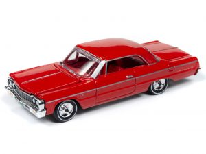 Racing Champions 1964 Chevy Impala Hardtop (Riverside Red) 1:64 Diecast