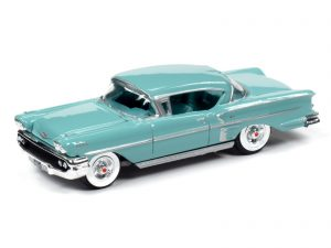 Racing Champions 1958 Chevy Impala Hardtop (Glen Green) 1:64 Diecast
