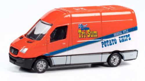 Classic Metal Works TraxSide Collection 1990 Sprinter Van (Tri-Sum Potato Chips) 1:87 HO Scale