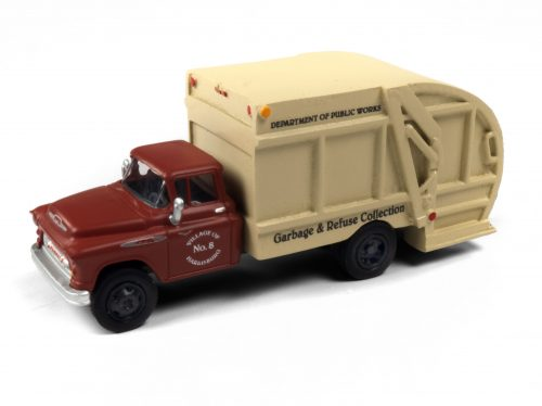 Classic Metal Works 1957 Chevy Garbage Truck (Harrisburg Department of Public Works) 1:87 HO Scale