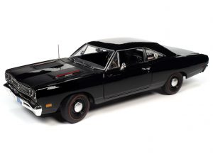 American Muscle 1969 Plymouth RR Hardtop (Hemmings Muscle Machines) 1:18 Scale Diecast