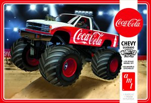 AMT 1988 Chevy Silverado Monster Truck (Coca-Cola) 1:25 Scale Model Kit