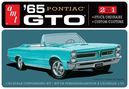 AMT 1965 Pontiac GTO 1:25 Scale Model Kit