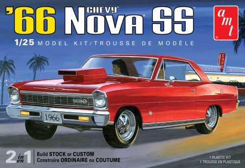 AMT 1966 Chevy Nova SS 1:25 Scale Model Kit
