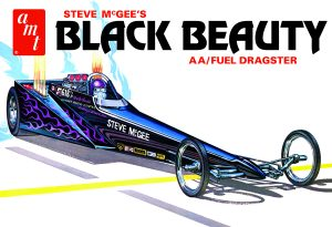 AMT Steve McGee Black Beauty Wedge Dragster 1:25 Scale Model Kit