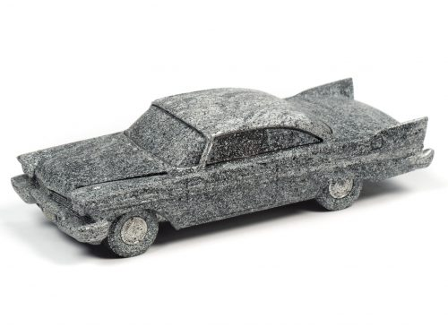 Auto World Christine 1958 Plymouth Fury (After Fire) 1:64 Diecast