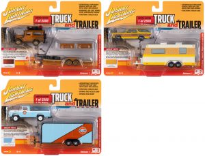 Johnny Lightning Truck & Trailer 2020 Release 1 - Set A
