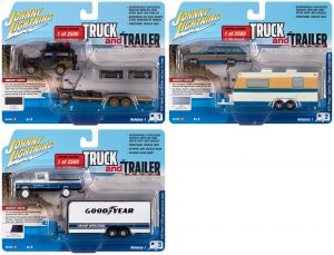 Johnny Lightning Truck & Trailer 2020 Release 1 - Set B