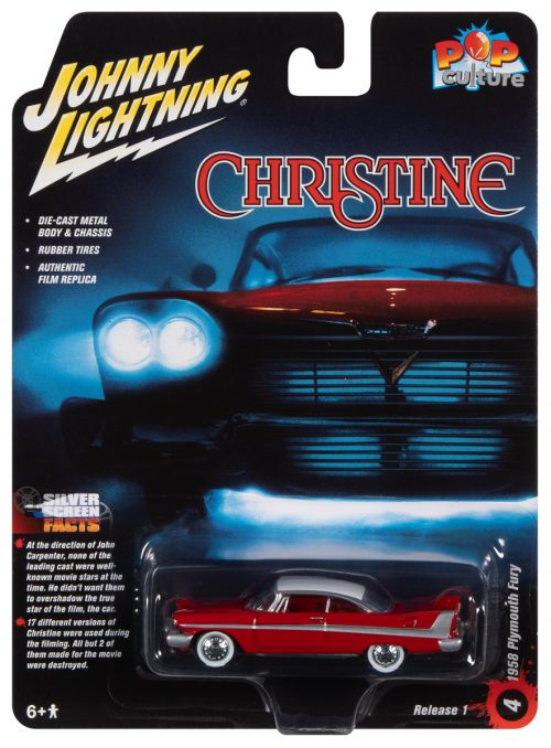 Johnny Lightning Pop Culture Christine 1958 Plymouth Fury (Daytime Version) 1:64 Diecast