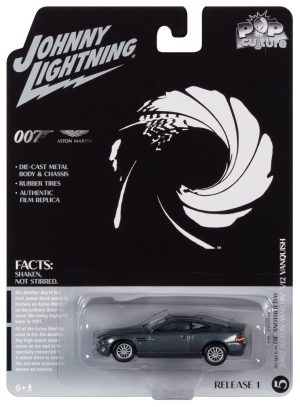 Johnny Lightning Pop Culture James Bond 2002 Aston Martin Vanquish (Die Another Day) 1:64 Diecast
