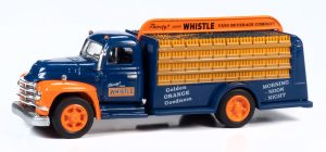 Classic Metal Works TraxSide Collection 1955 Beverage Truck (Whistle) O Scale