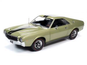 American Muscle 1968 AMC AMX Hardtop (MCACN) 1:18 Scale Diecast