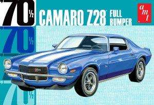 """AMT 1970 Camaro Z28 """"Full Bumper"""" 1:25 Scale Model Kit"""