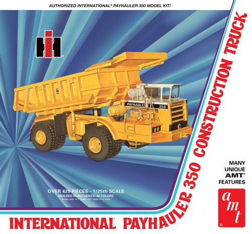AMT International Payhauler 350 1:25 Scale Model Kit