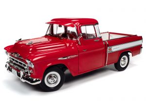 Auto World 1957 Chevrolet Cameo Pickup 1:18 Scale Diecast