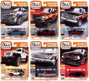Auto World Premium 2020 Release 3 Set A 1:64 Diecast