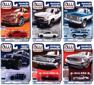 Auto World Premium 2020 Release 3 Set B 1:64 Diecast