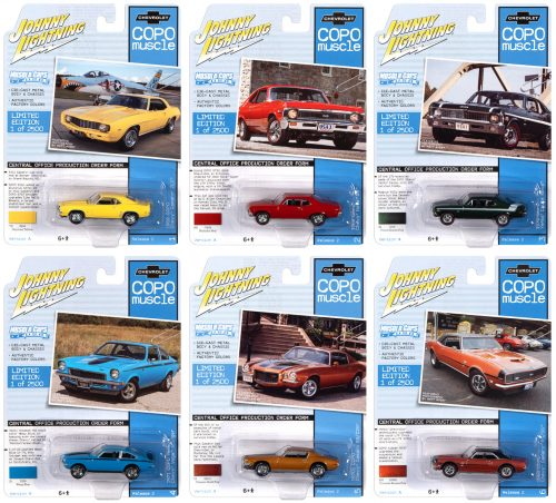 Johnny Lightning Muscle Cars USA 2020 Release 2 Set A - 1:64 Diecast
