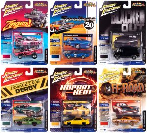 Johnny Lightning Street Freaks 2020 Release 2 Set A - 1:64 Scale Diecast
