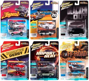 Johnny Lightning Street Freaks 2020 Release 2 Set B - 1:64 Scale Diecast