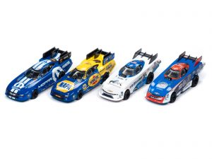 Auto World - NHRA Funny Cars - 4 Gear - Release 24 - HO Scale Slot Cars