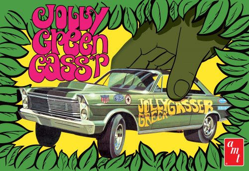 "AMT 1965 Ford Galaxie ""Jolly Green Gasser"" 1:25 Scale Model Kit"