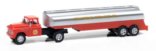 Classic Metal Works 1957 Chevy w/Tanker Trailer (Millstone Township Fire Dept) 1:87 HO Scale