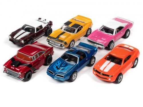Auto World Xtraction R30 HO Scale Slot Cars - Muscle Cars USA