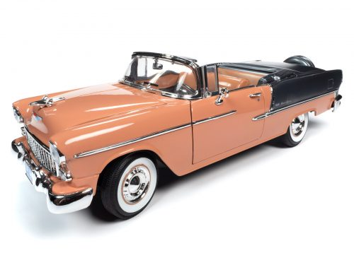 American Muscle 1955 Chevy Bel Air Convertible 1:18 Scale Diecast