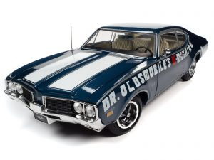 American Muscle 1969 Oldsmobile Cutlass 442 2-Door Coupe (Dr Oldsmobile's W-Machine) (MCACN) 1:18 Scale Diecast
