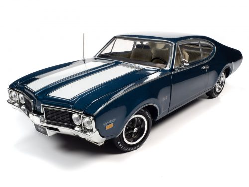 American Muscle 1969 Oldsmobile Cutlass 442 2-Door Coupe LE 1:18 Scale Diecast