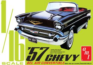 AMT 1957 Chevy Bel Air Convertible 1:16 Scale Model Kit