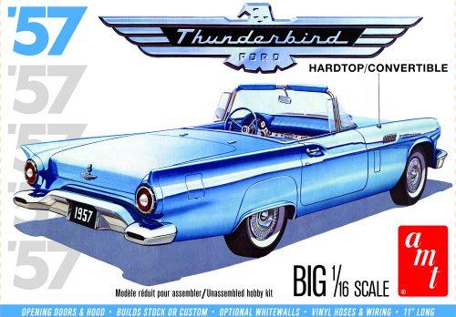 AMT 1957 Ford Thunderbird 1:16 Scale Model Kit
