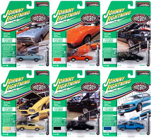 JOHNNY LIGHTNING MUSCLE CARS USA 2020 RELEASE 2 SET B - 1:64 DIECAST