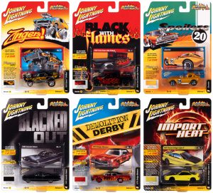 Johnny Lightning Street Freaks 2020 Release 3 Set A 1:64 Scale Diecast