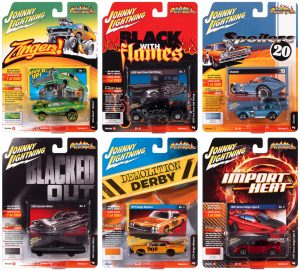 Johnny Lightning Street Freaks 2020 Release 3 Set B (6-Car Sealed Case) 1:64 Scale Diecast