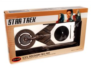 Polar Lights Star Trek Discovery U.S.S. Discovery Prebuilt Display Model 1:2500 Scale