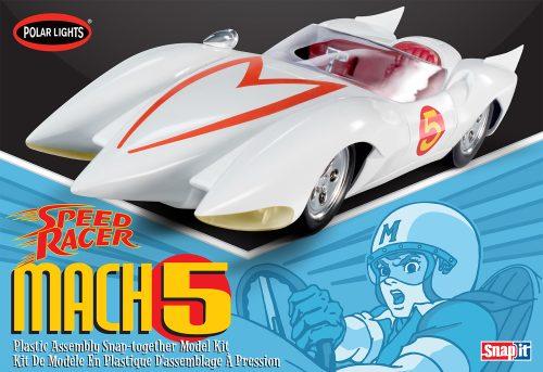 Polar Lights Speed Racer Mach V (Snap) 1:25 Scale Model Kit