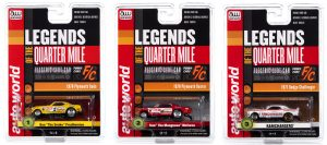 Auto World 4Gear R25 - Legends of the Quarter Mile - HO Scale Slot Car