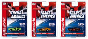 Auto World Thunderjet R30 Sam Posey - Trans Am Racers HO Scale Slot Car