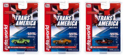 Auto World Thunderjet R30 Sam Posey - Trans Am Racers HO Scale Slot Car