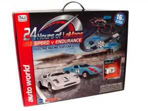 Auto World 16' 24 Hours of Le Mans Speed V Endurance Slot Race Set HO Scale
