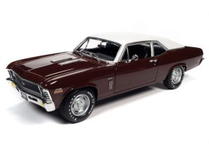 American Muscle 1970 Chevrolet Nova SS 396 (MCACN & Class of 1970) 1:18 Scale Diecast
