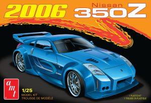 AMT 2006 Nissan 350Z 1:25 Scale Model Kit