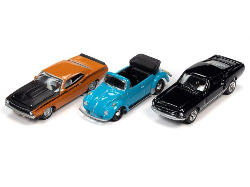 JOHNNY LIGHTNING 1:64 DIE CAST ASSORTMENT WITH COLLECTOR TIN 2020 R4