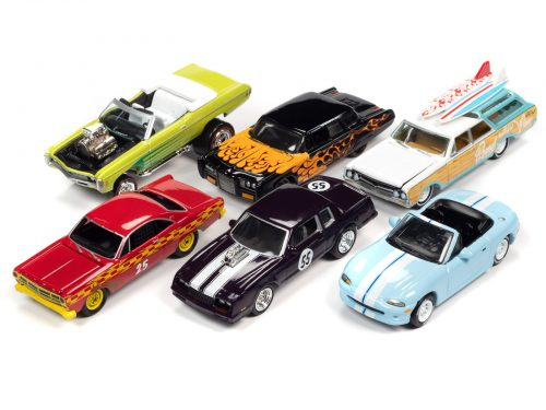 Johnny Lightning Street Freaks 2020 Release 4 Set A - 1:64 Scale Diecast