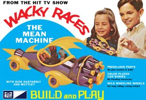 MPC Wacky Races - Mean Machine (SNAP) 1:32 Scale Model Kit